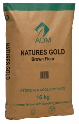 16kg Natures Gold Brown Flour