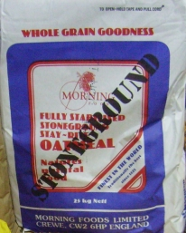 25kg Stone Ground grade 40 Oatmeal