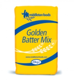 20kg or 6x1.5kg Middletons Golden Batter