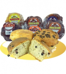 24xMobberley Assorted Giant Muffins