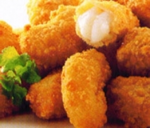 454g Wholetails of Breaded Scampi