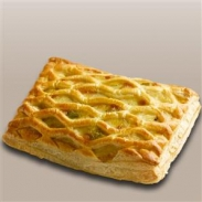 Wright's Creamy Vegetable Lattice Slice